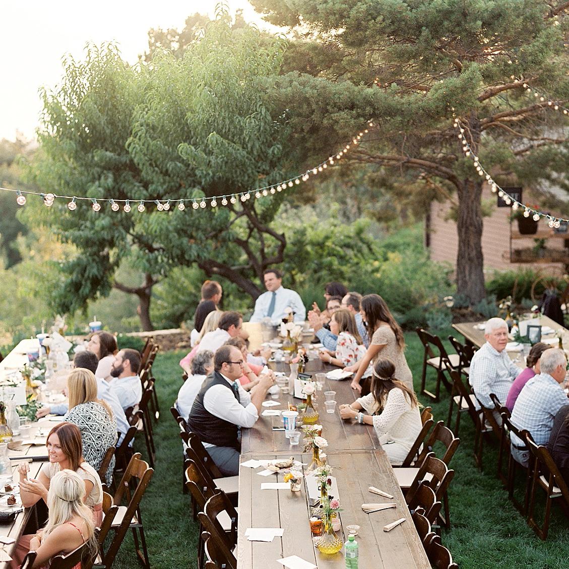 Kim & Alex - LDS Temple &Backyard Wedding