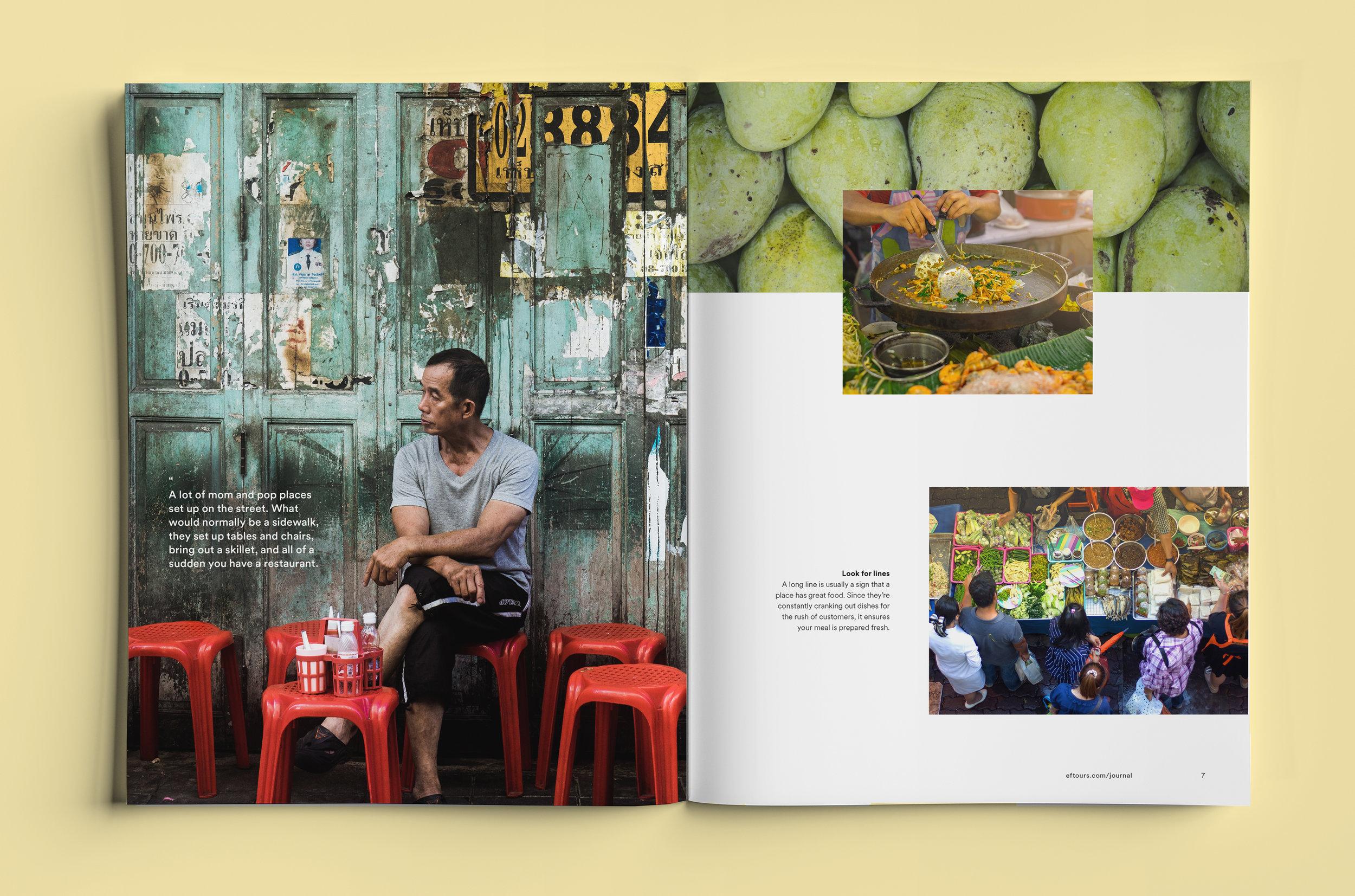photo essay - EF journal piece on street food in Bangkok.
