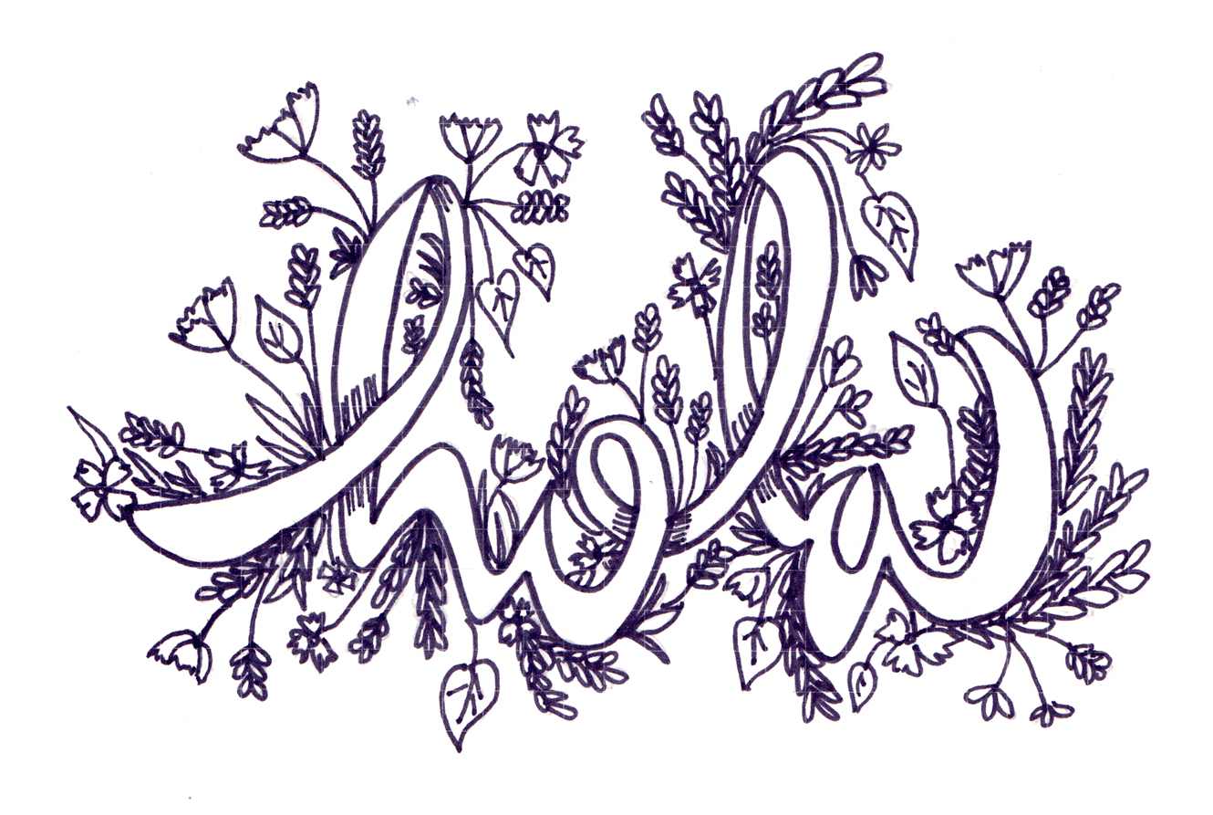 lettering + illustrations - personal lettering projects.