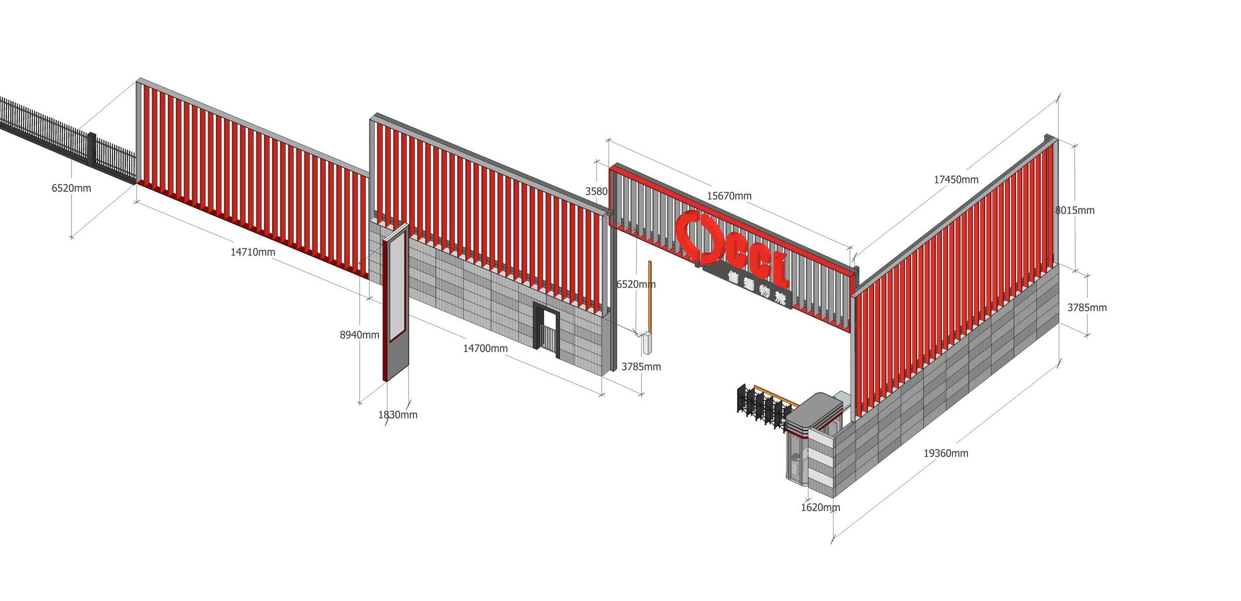 Gatehouse Design 3D Model