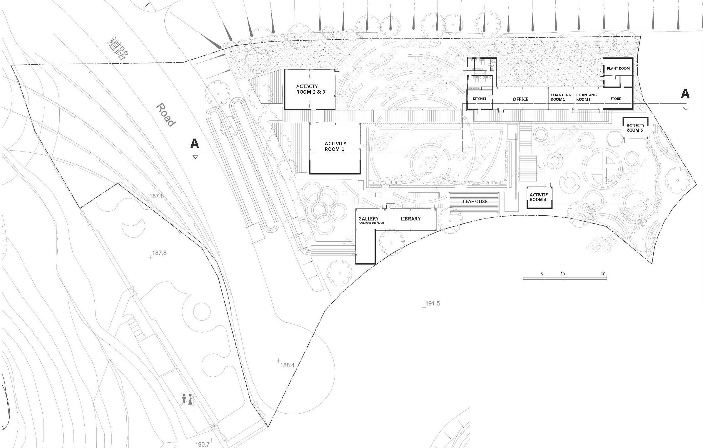 Ground Floor Plan 地面層平面