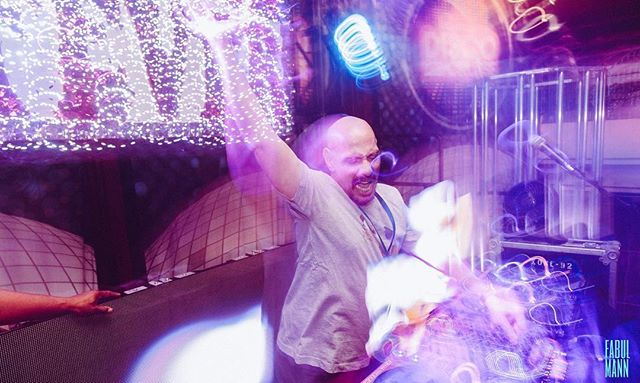 Hallelujah Disco!! . . . A HUGE thanks and a special shout out to Nicky Siano for providing me the opportunity to do projections for Hallelujah Disco and special sets in Studio 55. . . . #ultimatediscocruise #ultimatediscocruise2019 #teamcanon #fabulmanndoesphotos