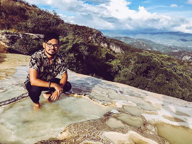 Hierva El Auga . . Taking a moment to reaffirm how rejuvenating it was to visit this natural spring / petrified waterfall since its so easy to get caught up in the day to day living in the concrete jungle . . #tbt  #hiervaelagua