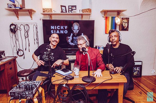 Its Nicky Siano LIVE! . . Had a blast working with @djnick54 @bluemarvin55 @larue_david . . Livestream is up every wednesday at 3pm E.S.T.