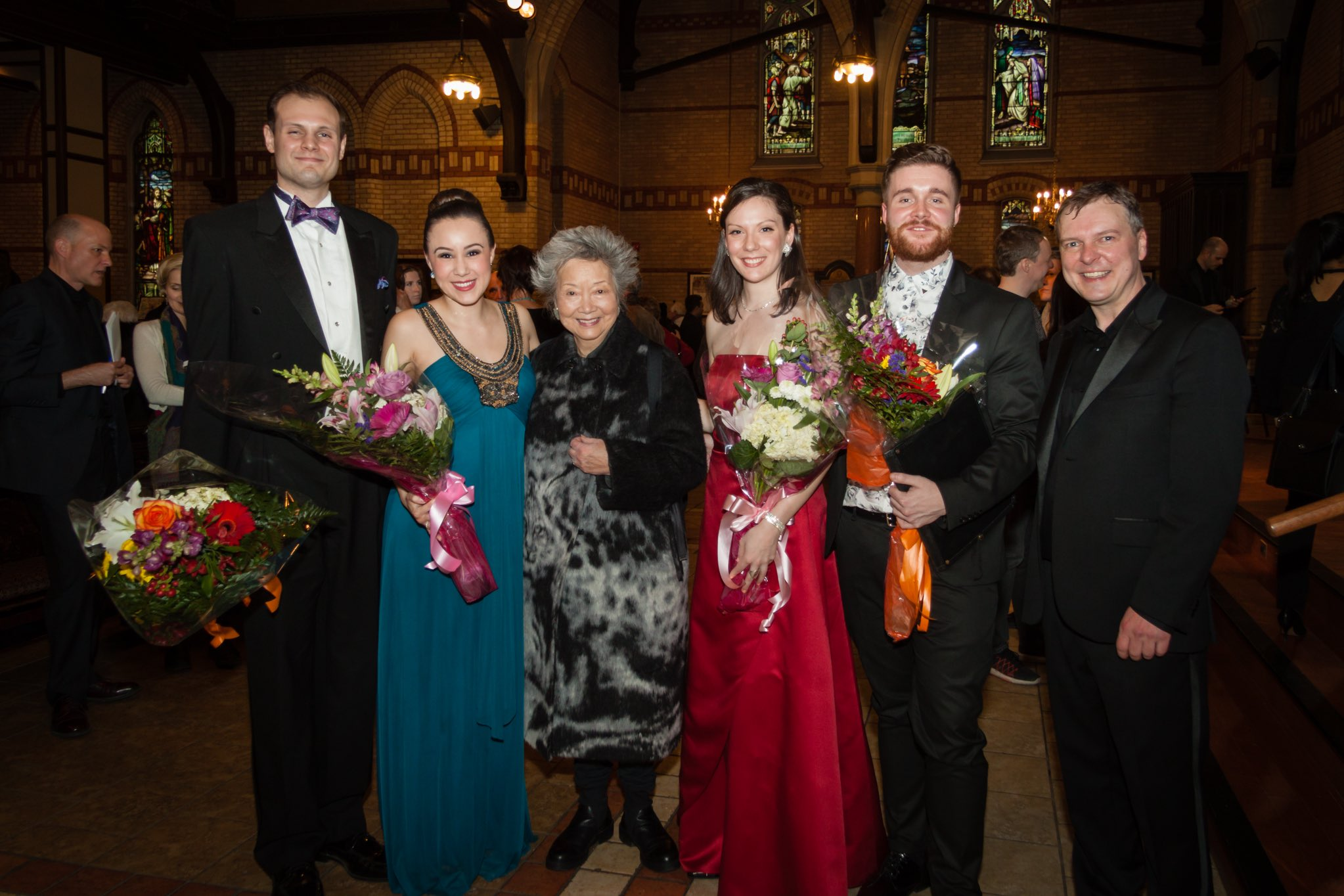 Soloist, Mozart's Requiem with Dr. David Bowser, Andrea Nunez, Daevyd Pepper, Dylan Wright and the Right Honourable Adrienne Clarkson | Mozart Project | Andrew Kcont photography 2017