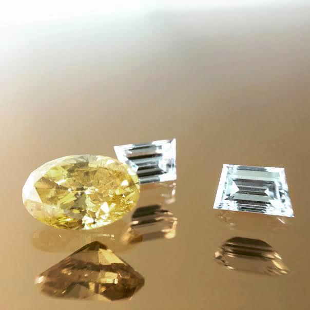 Diamonds released from original setting
