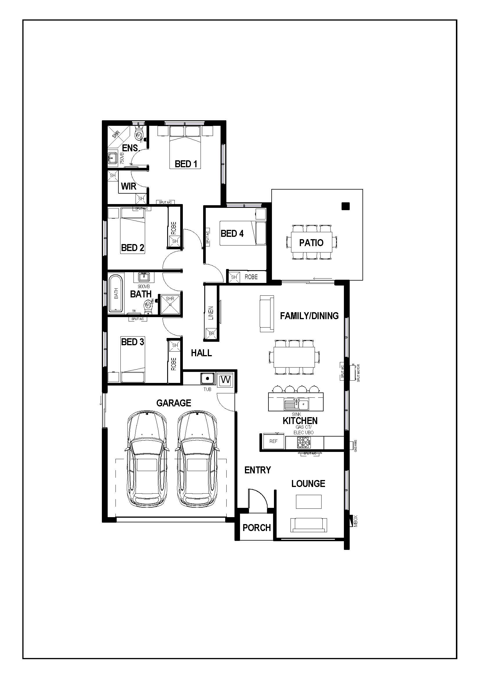 With 4 Bedrooms