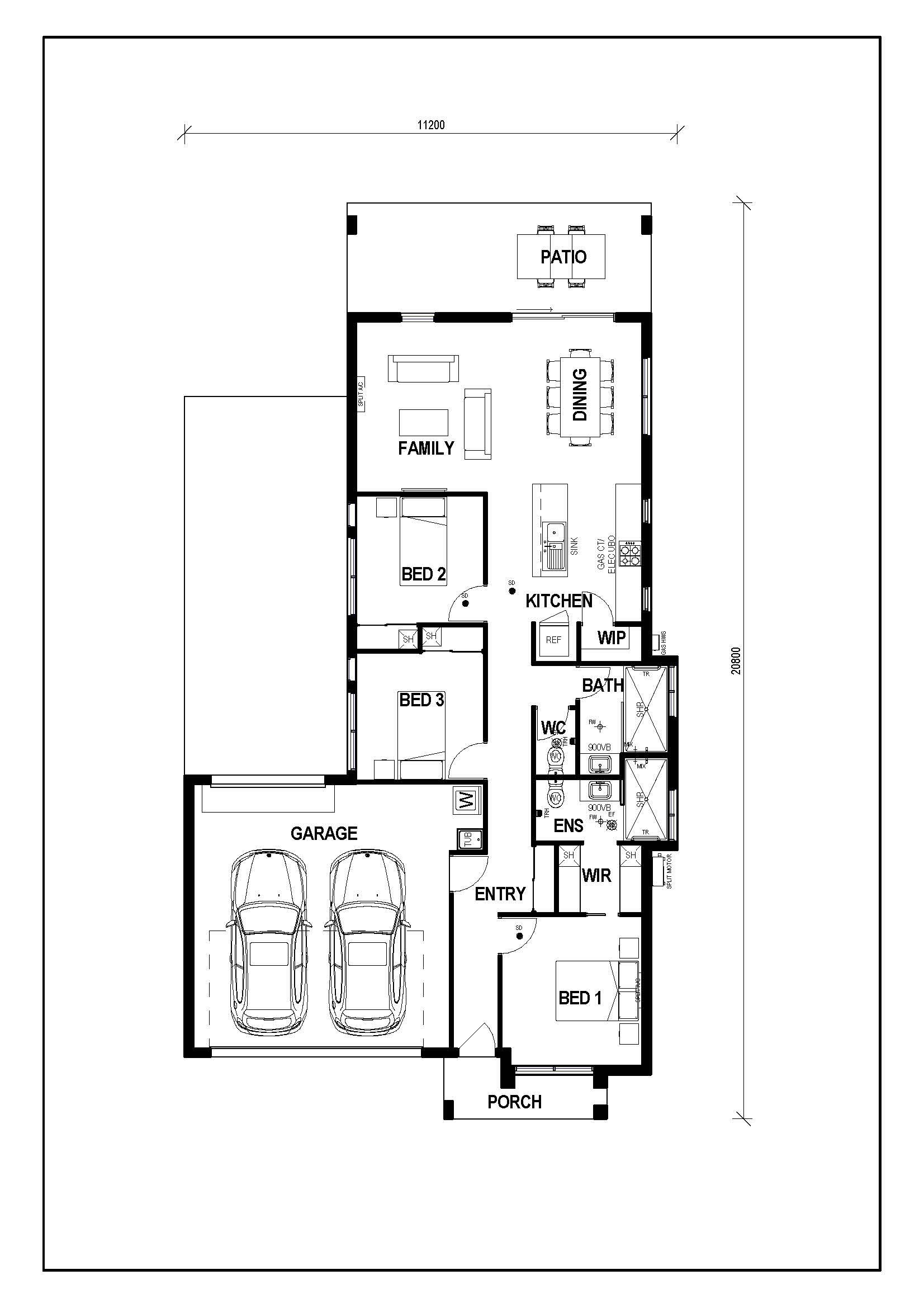 KULMAREN A 144 DOUBLE GARAGE Floor plan.jpg