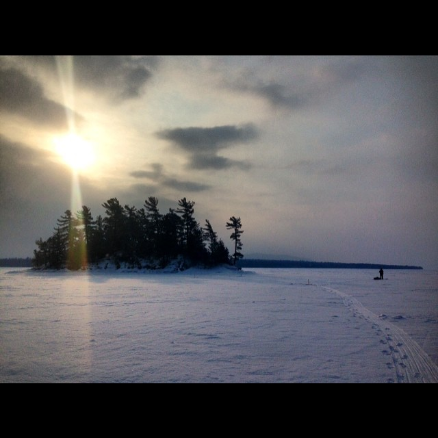 Spinney Island, Moosehead Lake.