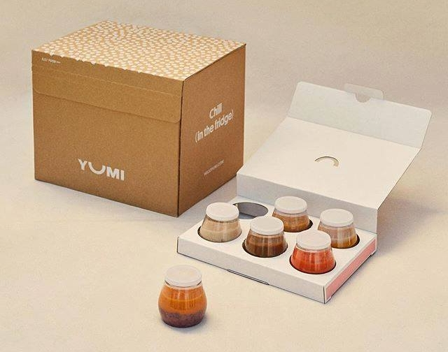 StackTek's innovative, single-serve containers are utilized by Yumi to deliver fresh meals specially curated for tots. (Image source: Yumi)