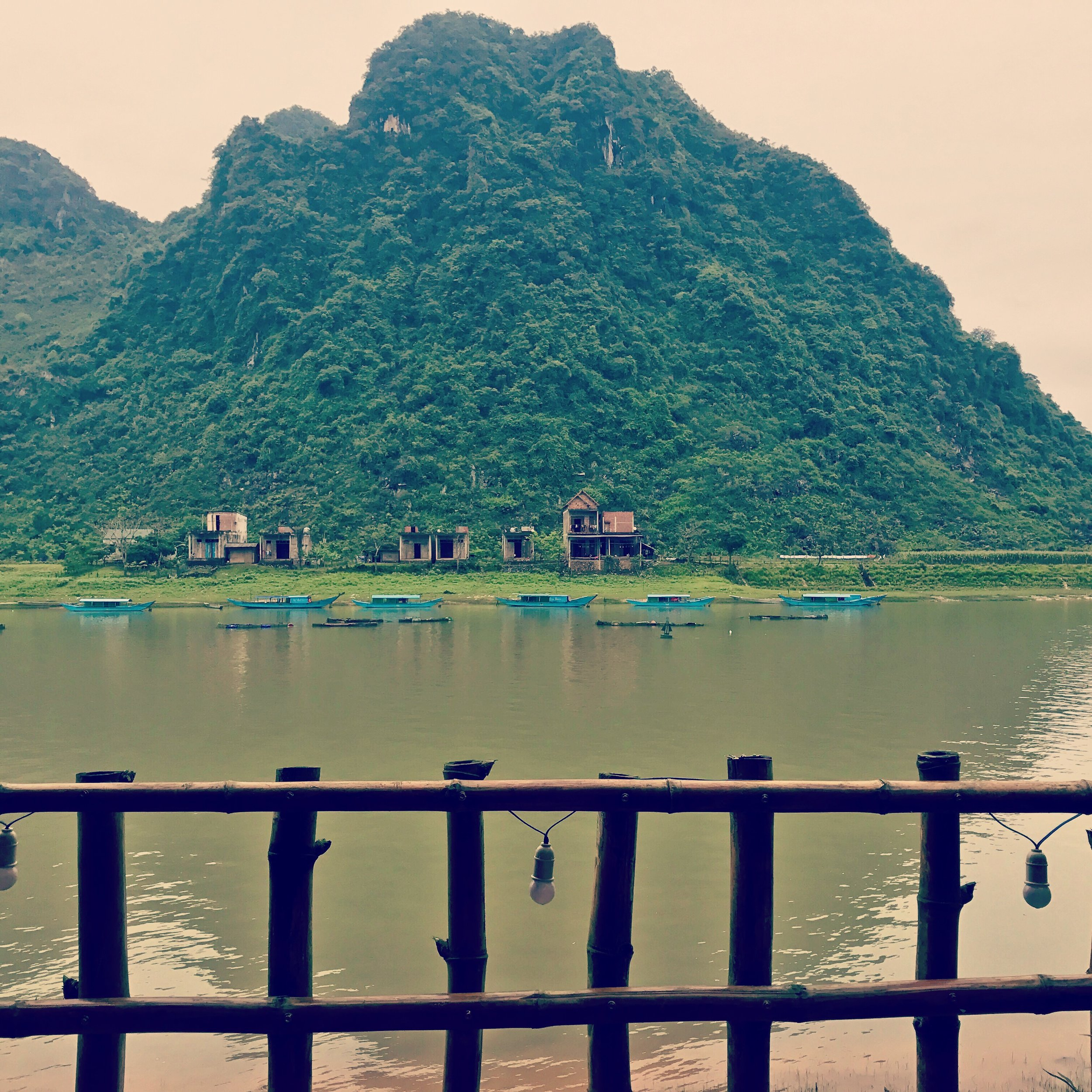 View from Phang Nha Coco House