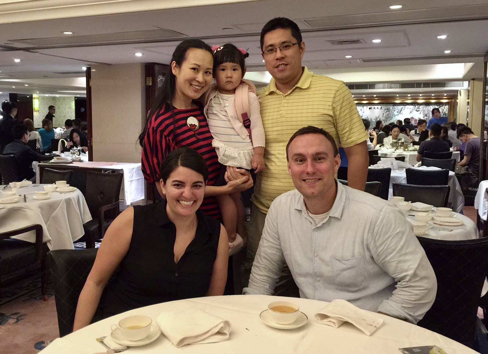 Getting to meet up with one of Nicole's old friends (and make two new friends) while in Hong Kong :)