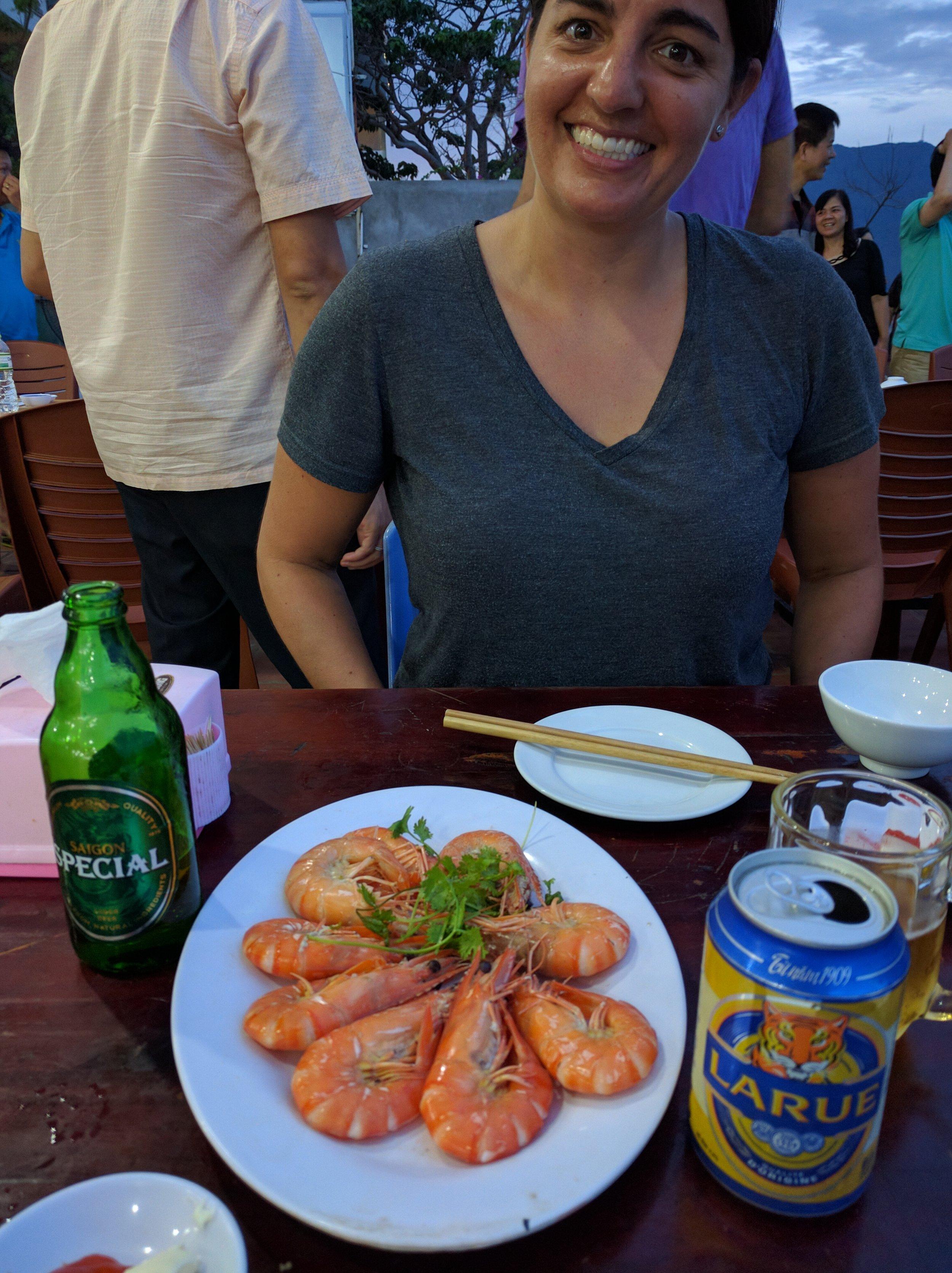 Happier times in Da Nang