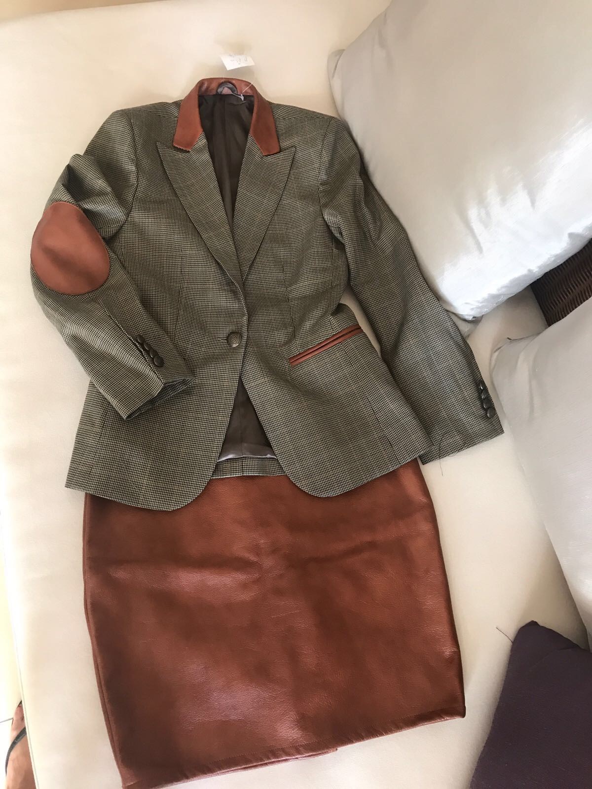 One of Leigh Anna's clothing purchases courtesy of Tuong Tailor