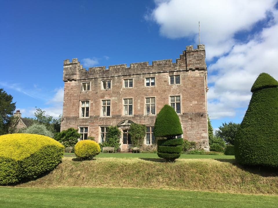 Grounds of Askham Hall, near Penrith, England, where our friends Phil and Blake celebrated their vows