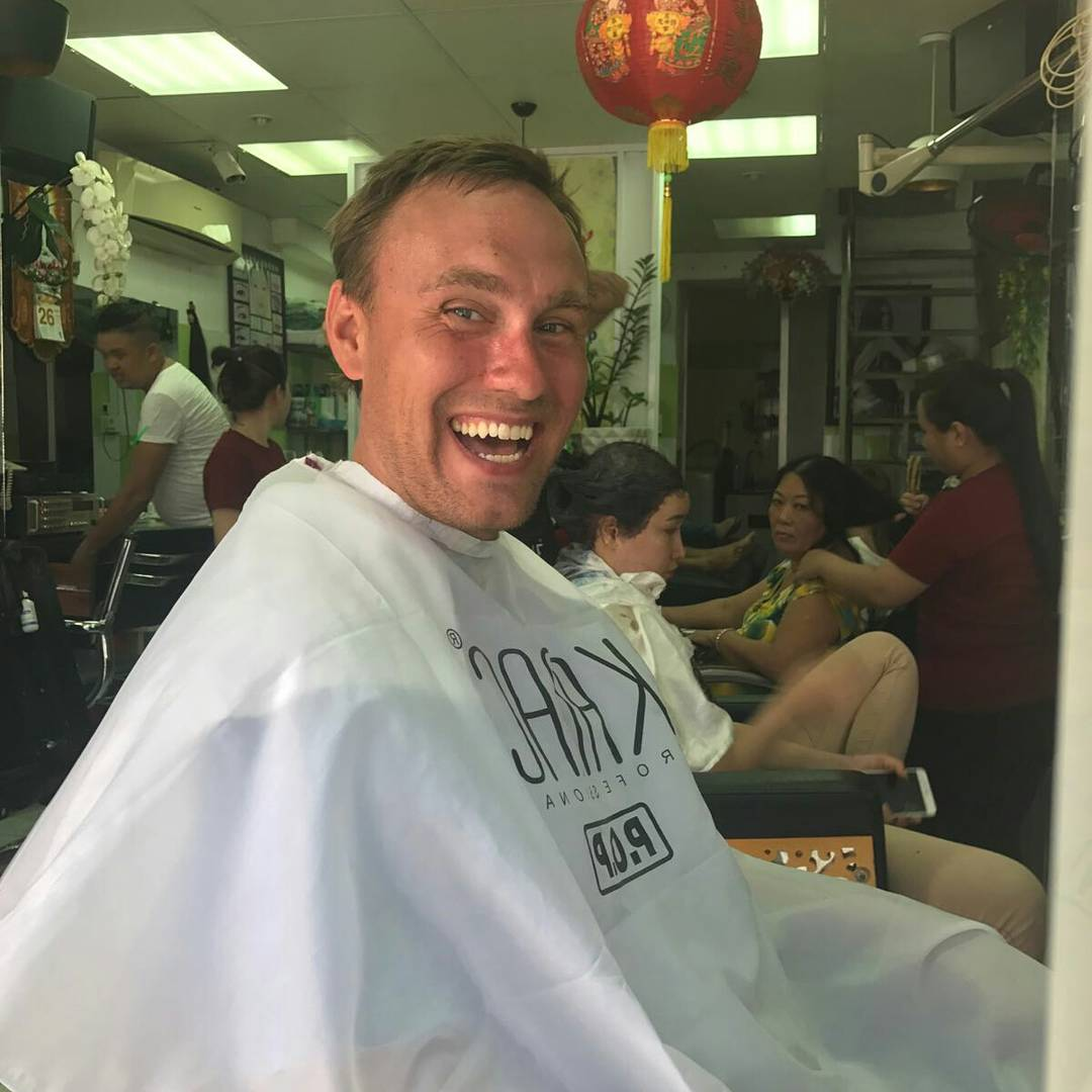 Happy times when I finally get a haircut
