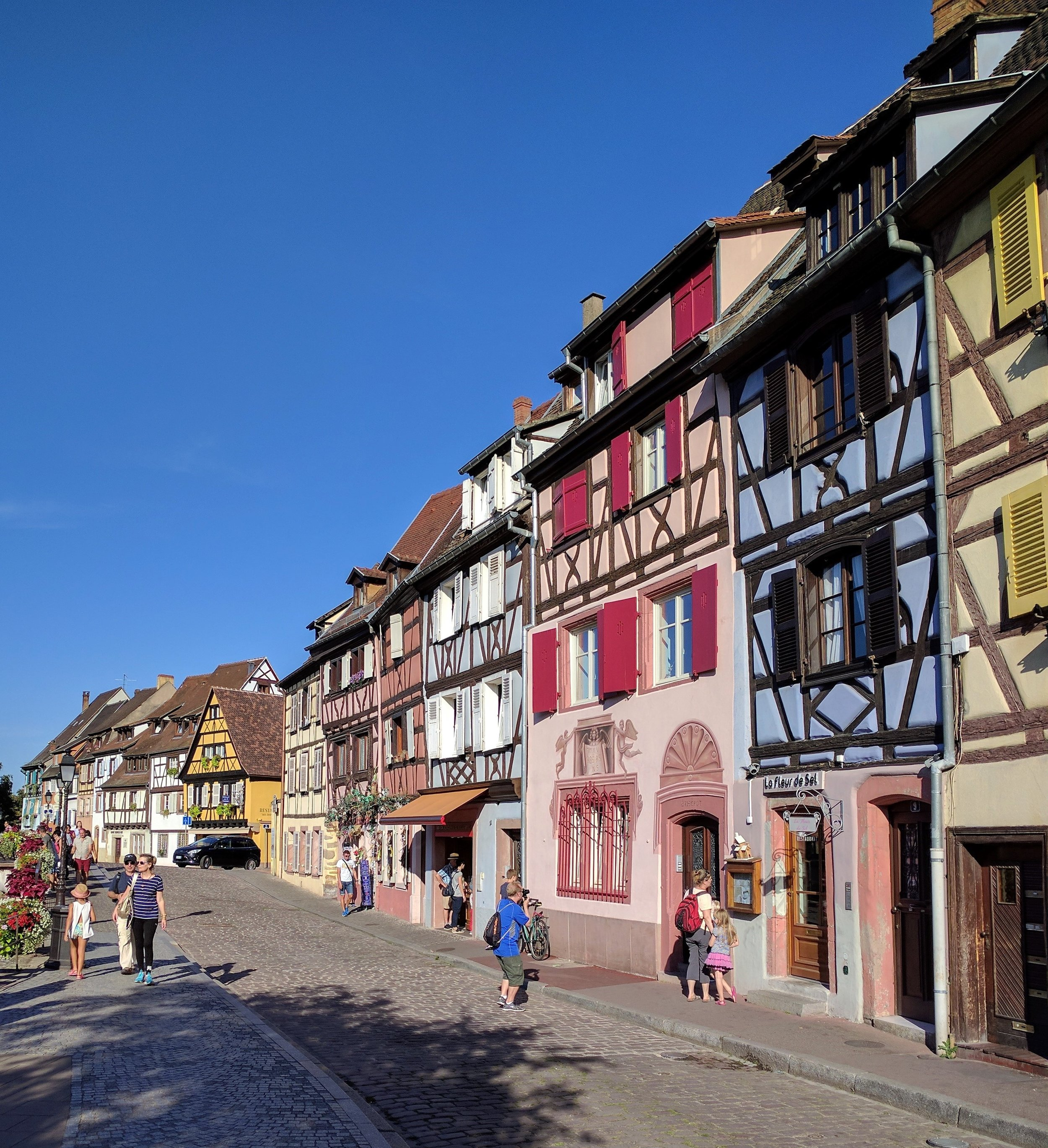 The mean streets of Colmar