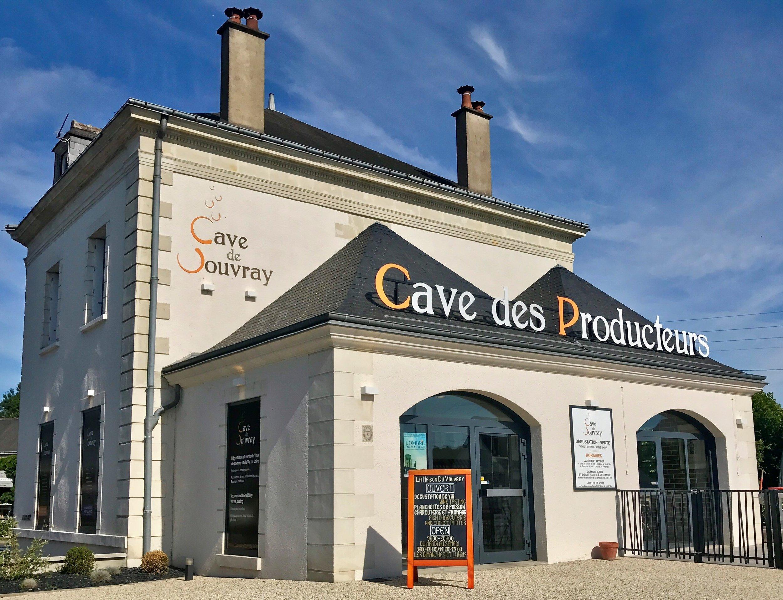 1. Caves du Producteurs Vouvray -
