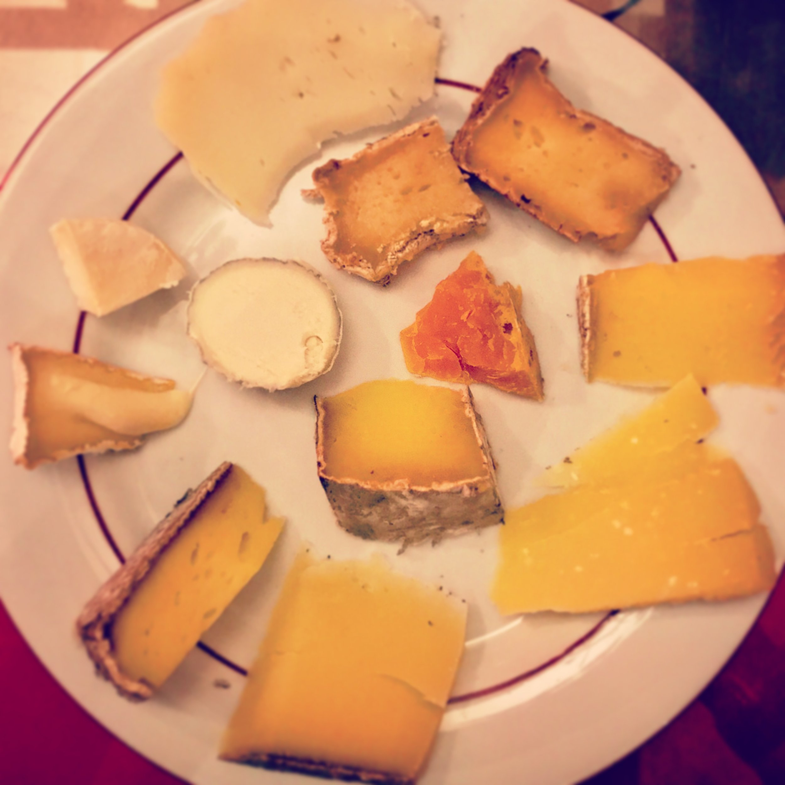 Did I mention that this restaurant served cheese?
