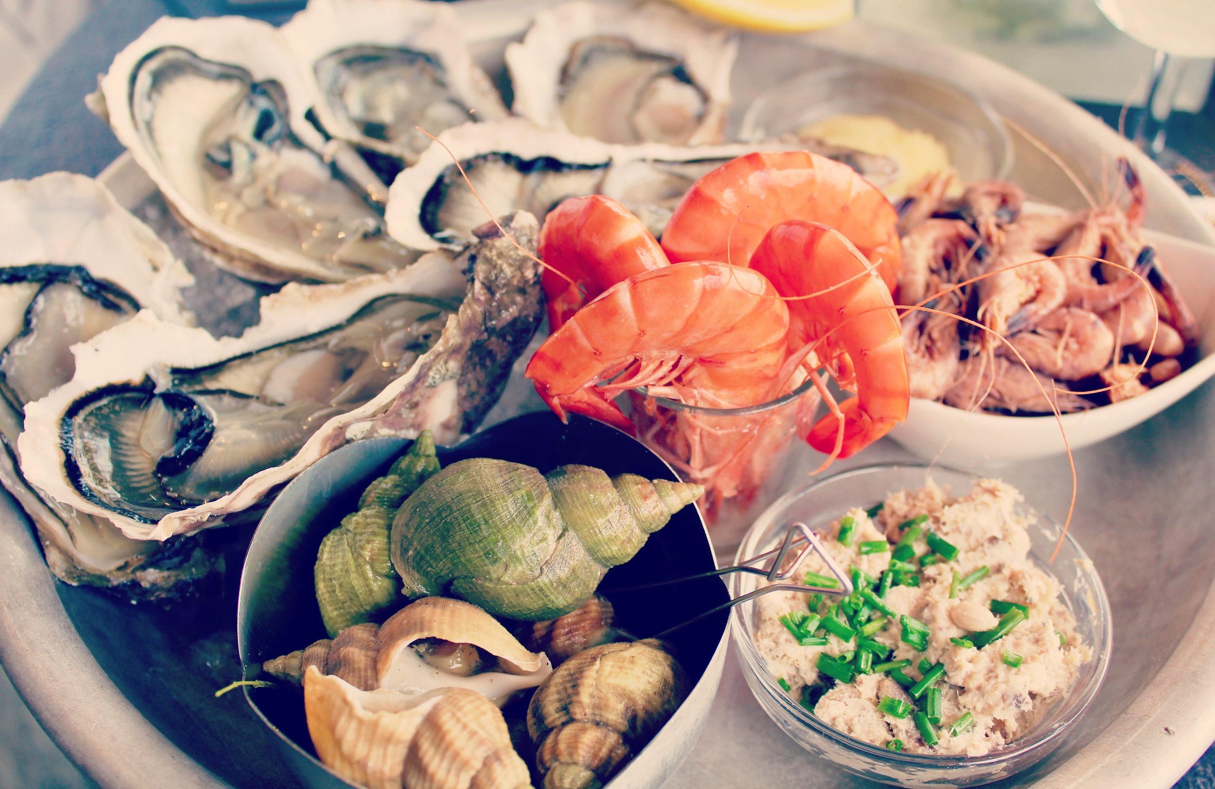 Oysters from Restaurant l'Atelier de l'Huitre