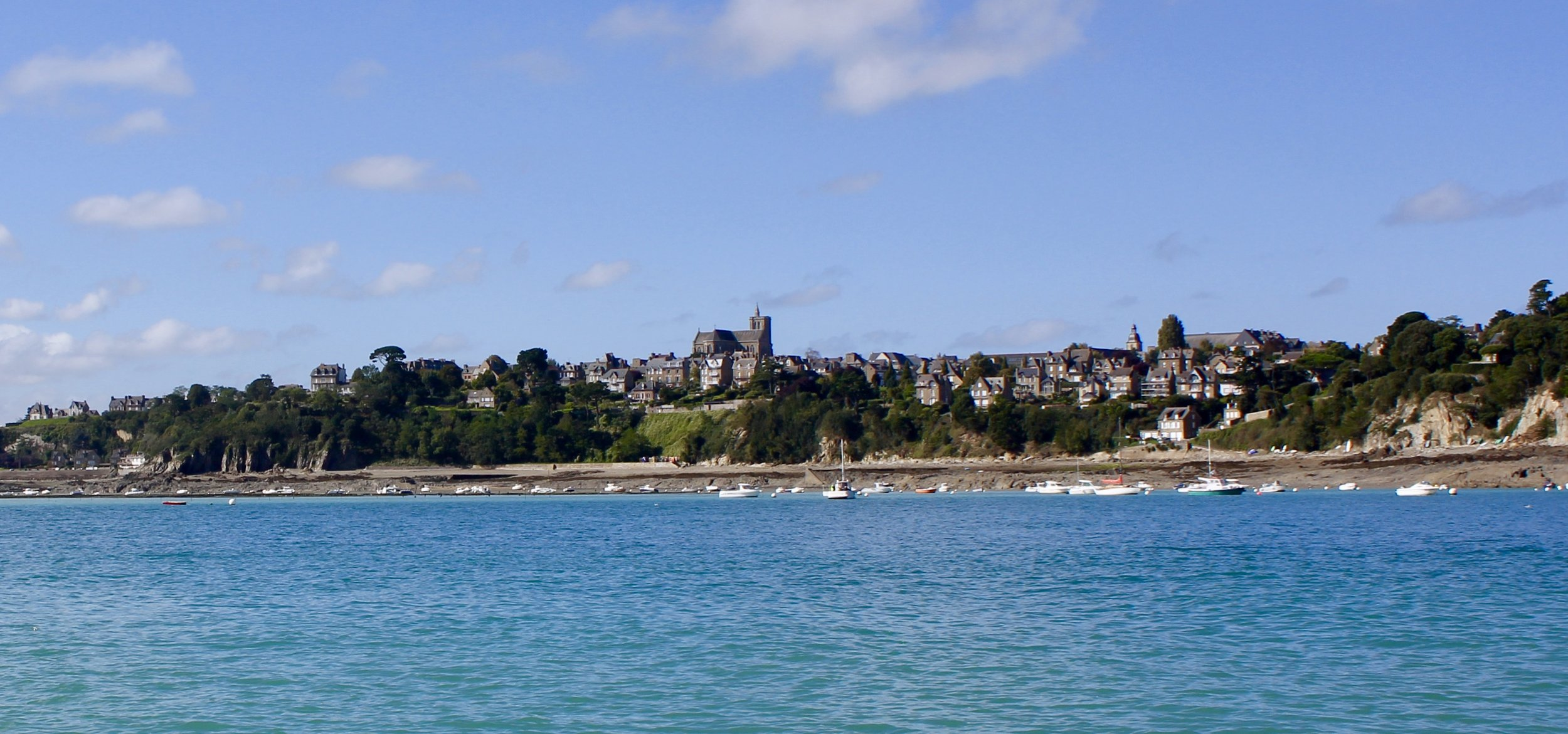 Cancale from the water