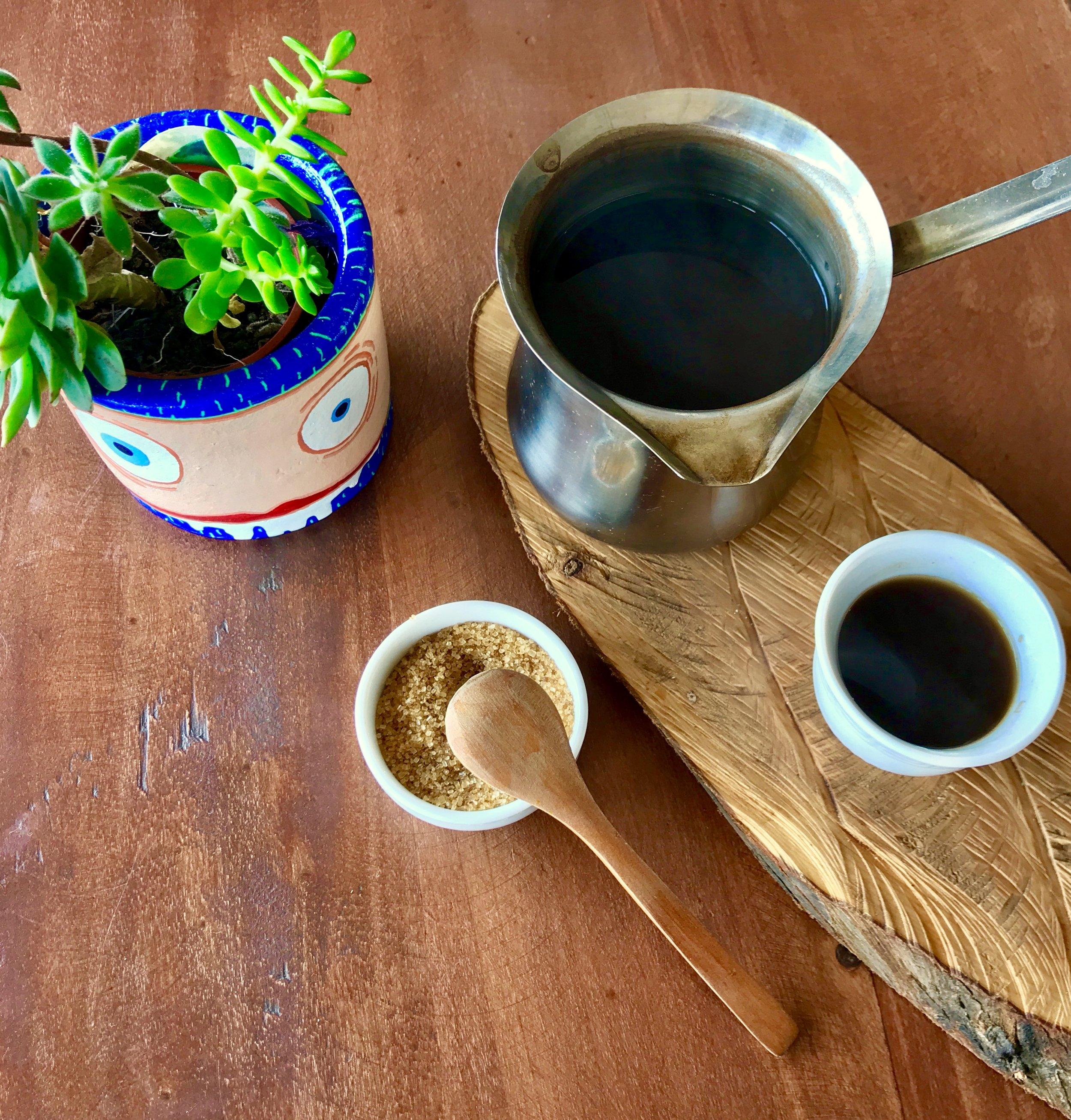 Cardamom Coffee from Cúrcuma