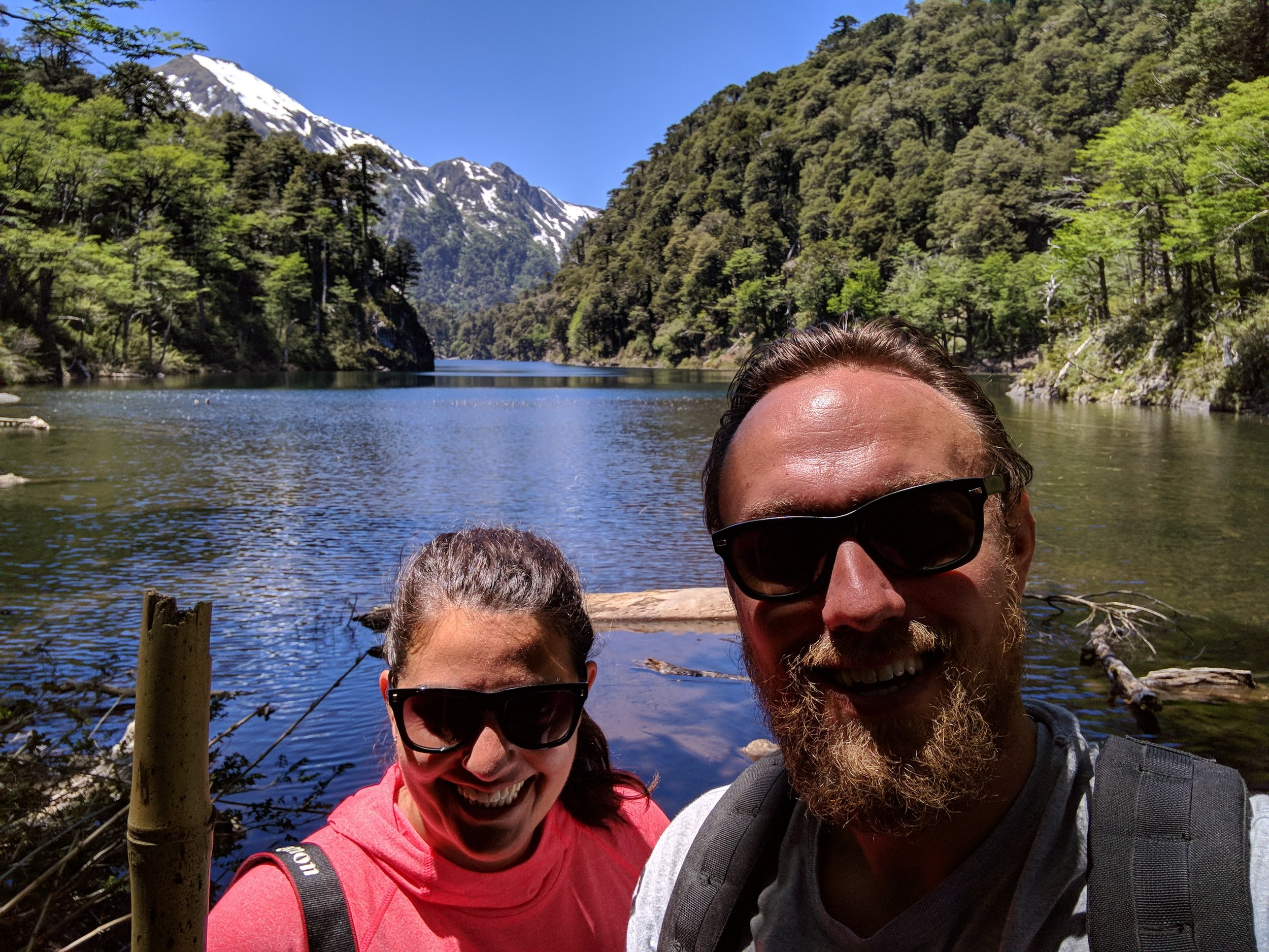 Hiking in Huerquehue National Park