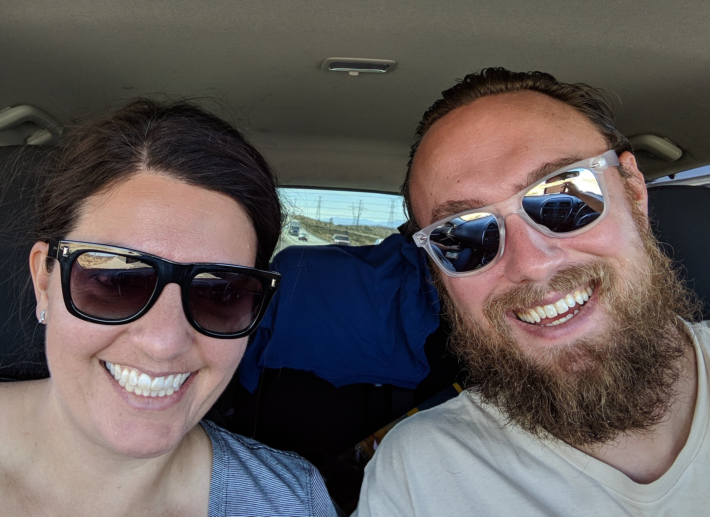 Road trippin' in our new (used) car!