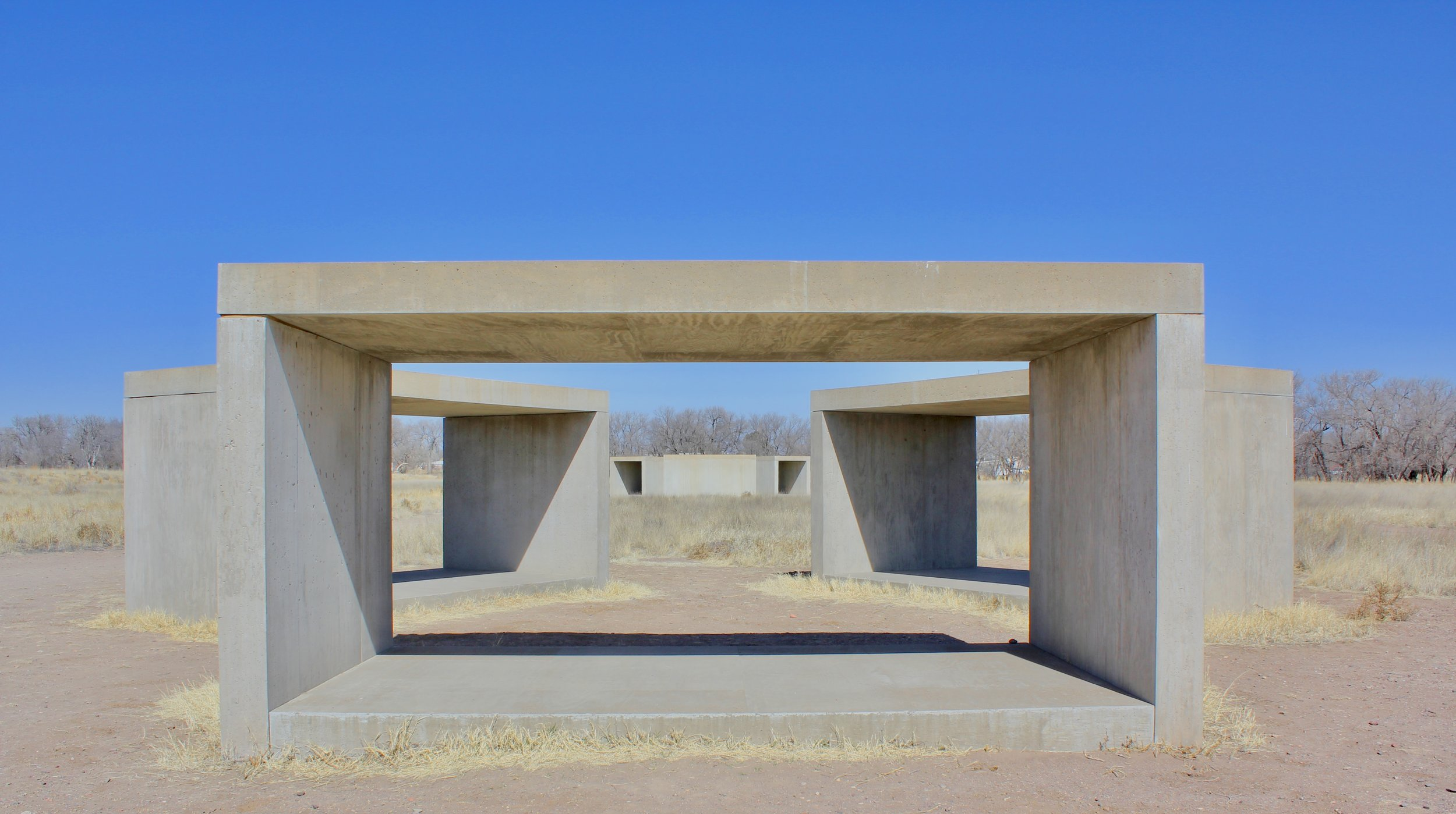 The fifteen concrete works by Donald Judd - Chinati Foundation