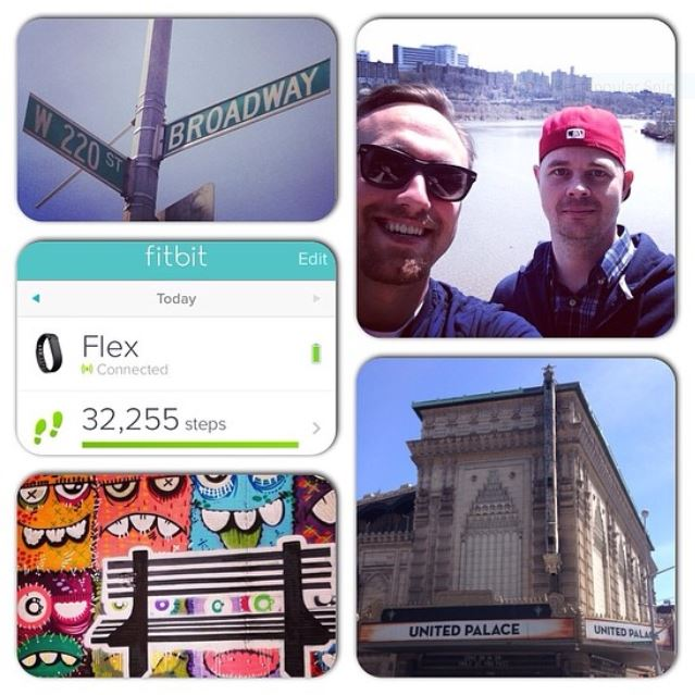 Pics from the Broadway walk I did in 2014...