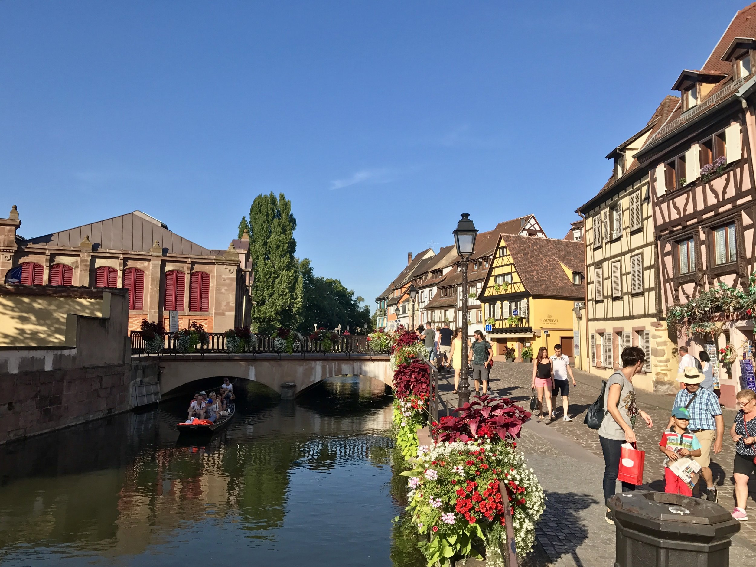 The town of Colmar where Nicole and I stayed in Alsace