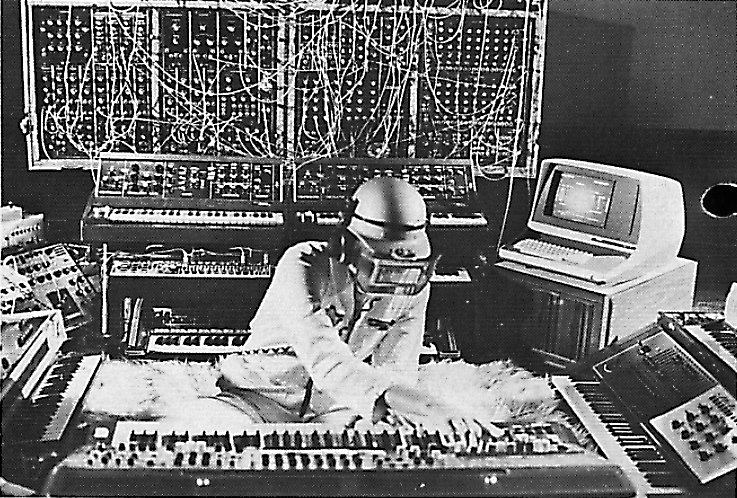Klause Schulze, Electronic Music Composer, 1980