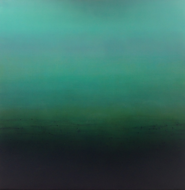 Above: Patricia Heaslip,  Walk In Silence , Oil on Linen, 183 x 183cm, P.O.A.