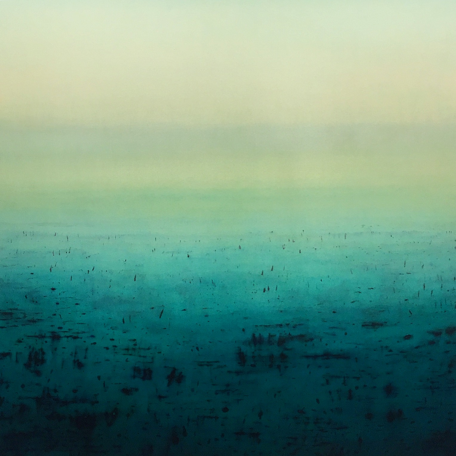 Patricia Heaslip,  Fortitude , Oil On Canvas, 183 x 183cm, P.O.A.