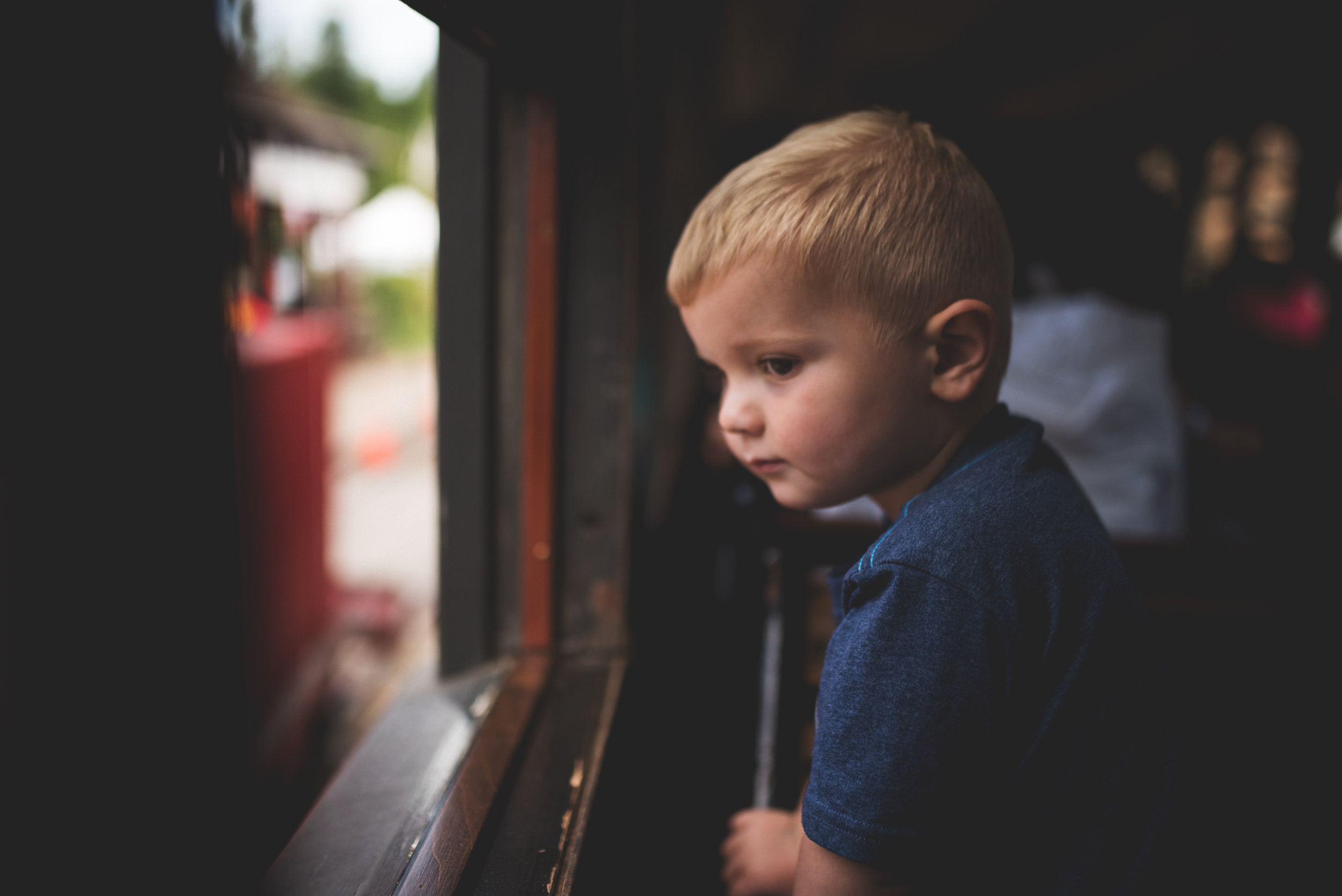 Kristin Grover Images, A Day out with Thomas, Northwest Train Museum, Snoqualmie, WA, North Bend Family Photographer