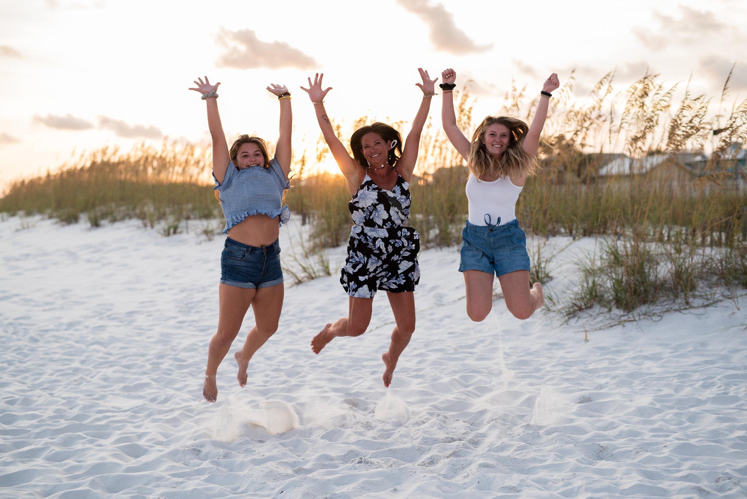 Family Beach Photographer. Kristin Grover Images