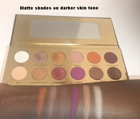 matte swatch on dark skin.JPG
