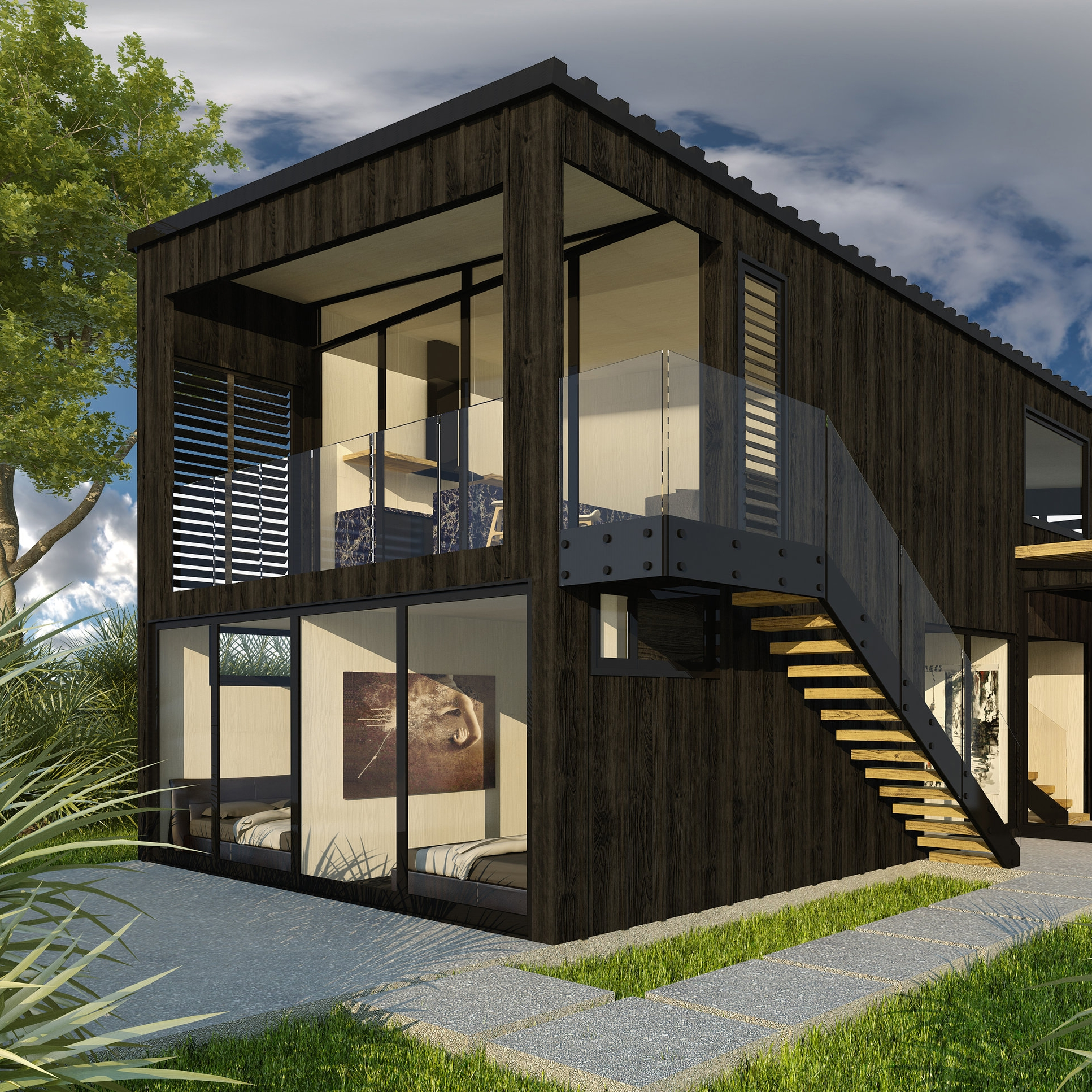 Narrow Neck Residence