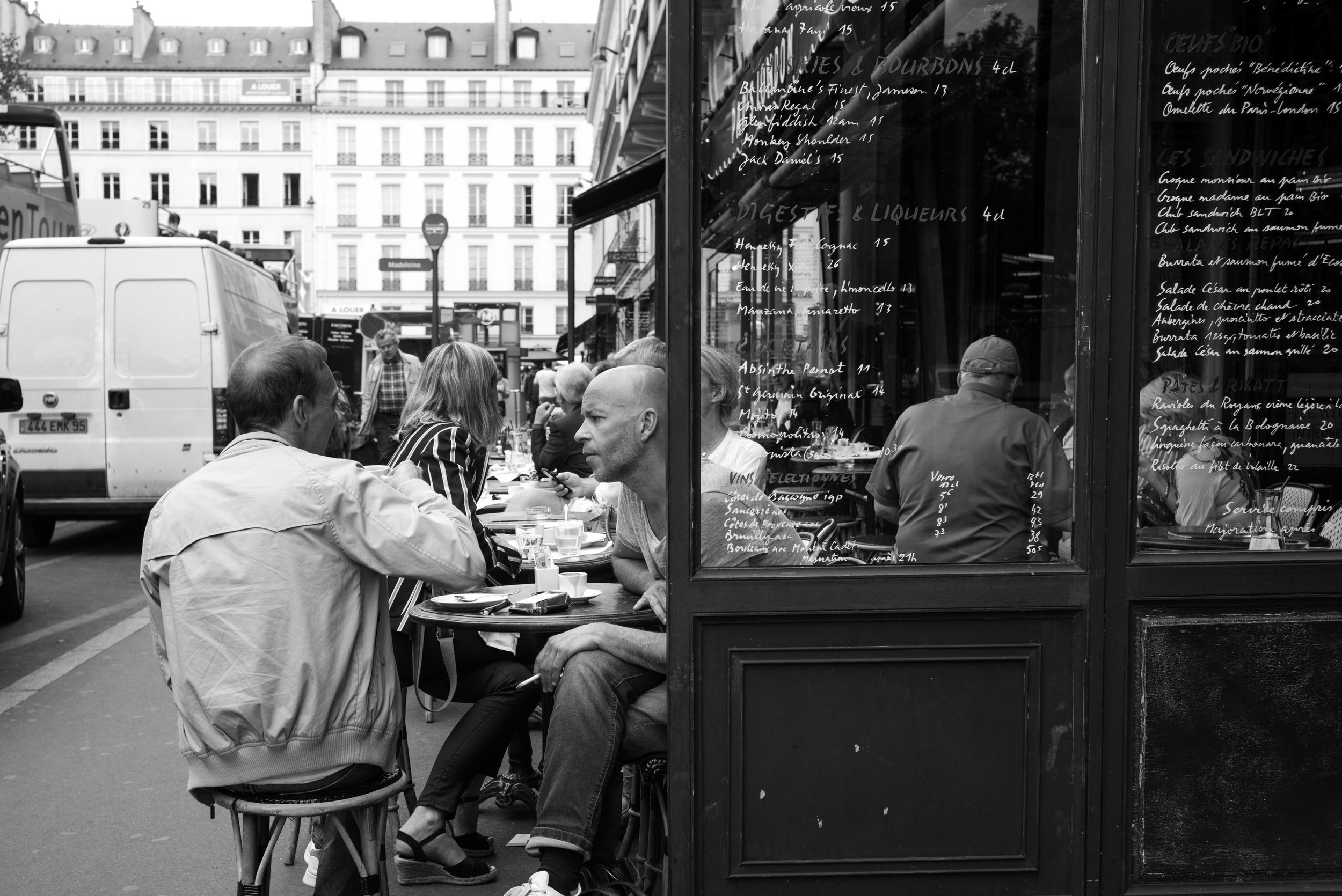 Honestly, I don't know what the significance of this image is. Other than being street documentation of a brasserie in Paris, there is nothing special about it.