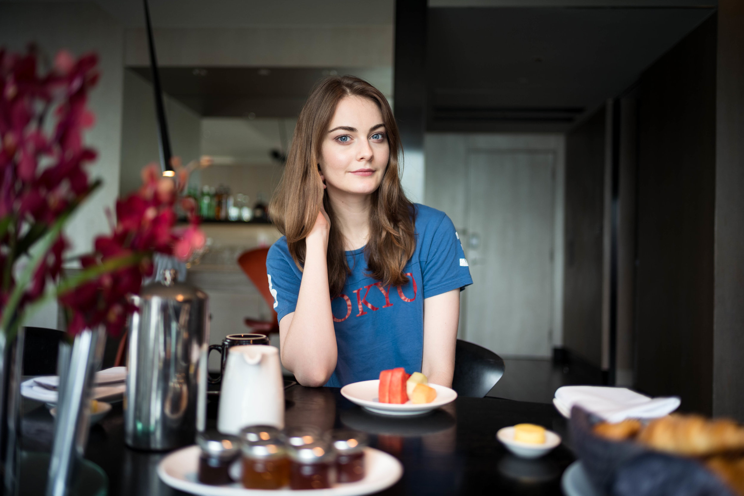 Breakfast with Anna. My recurring subject. This shoot was originally part of my Leica SL with fast lens test. But I figure that I'd rather use it for this write up. Leica 28mm f/1.4 Summilux