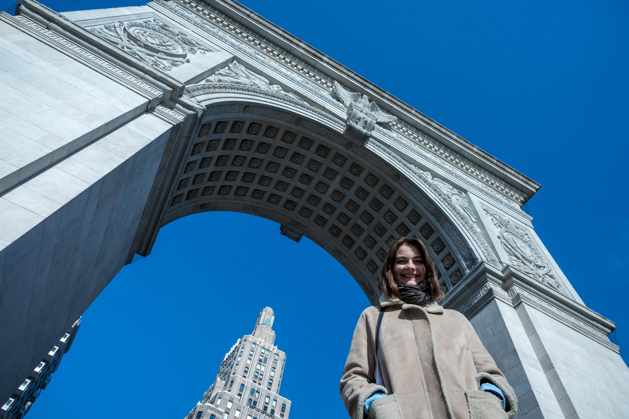Leica SL + Leica 21mm f/1.4 Summilux - The Arch at Washington Square Park
