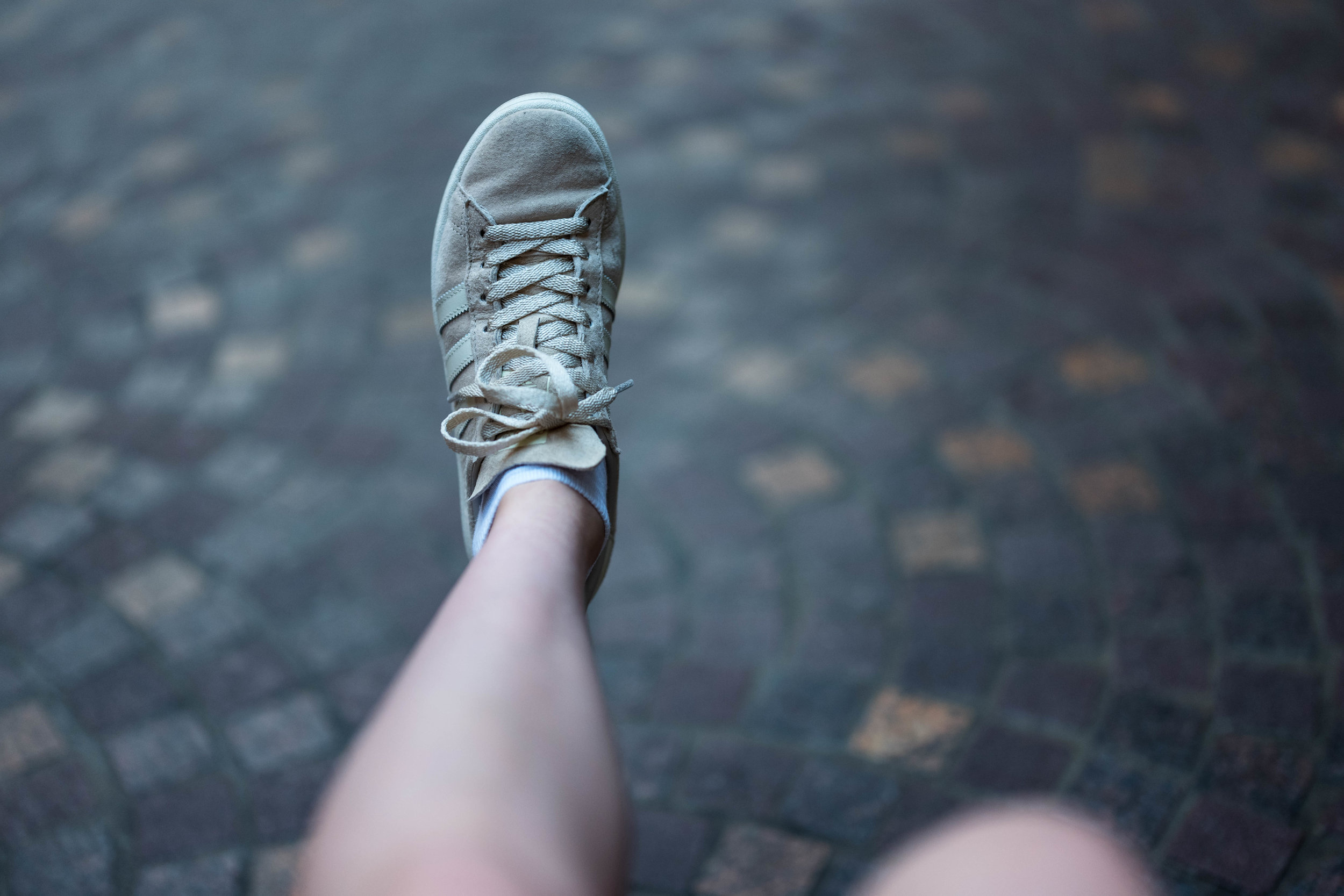 Leica 50mm f/1.4 Summilux-SL ASPH - Parting shots from Anna. This one she took of her shoe.