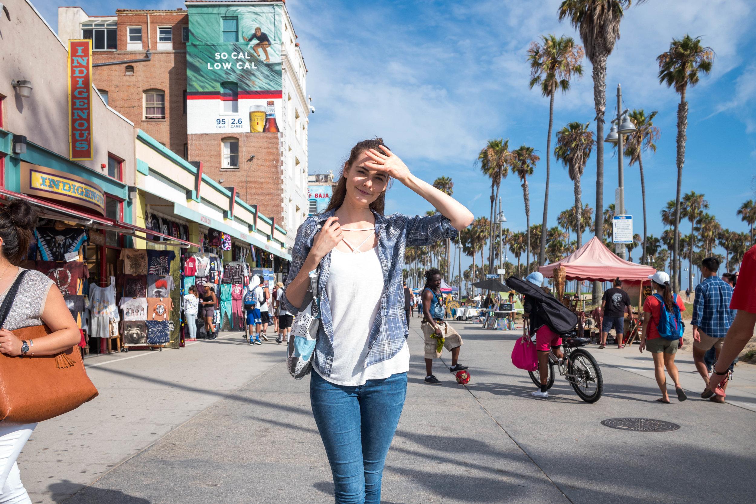 At the Venice Beach Promenade. Leica 28mm f/1.4 Summilux ASPH