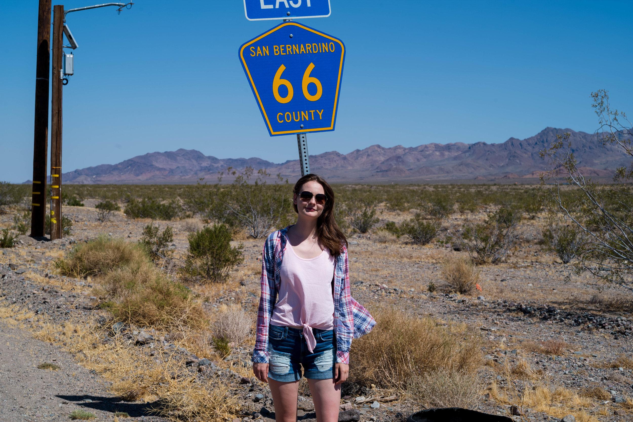 Finally, on Route 66. Leica APO 50mm f/2 Summicron ASPH
