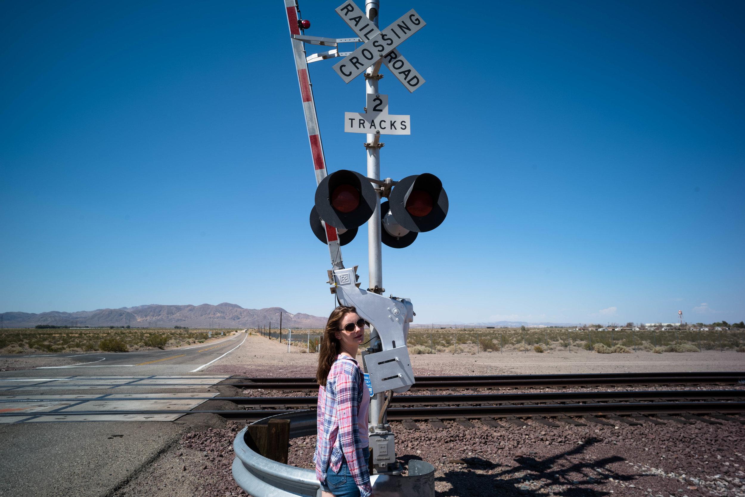 At the train tracks. Leica 21mm f/3.4 Super Elmar ASPH