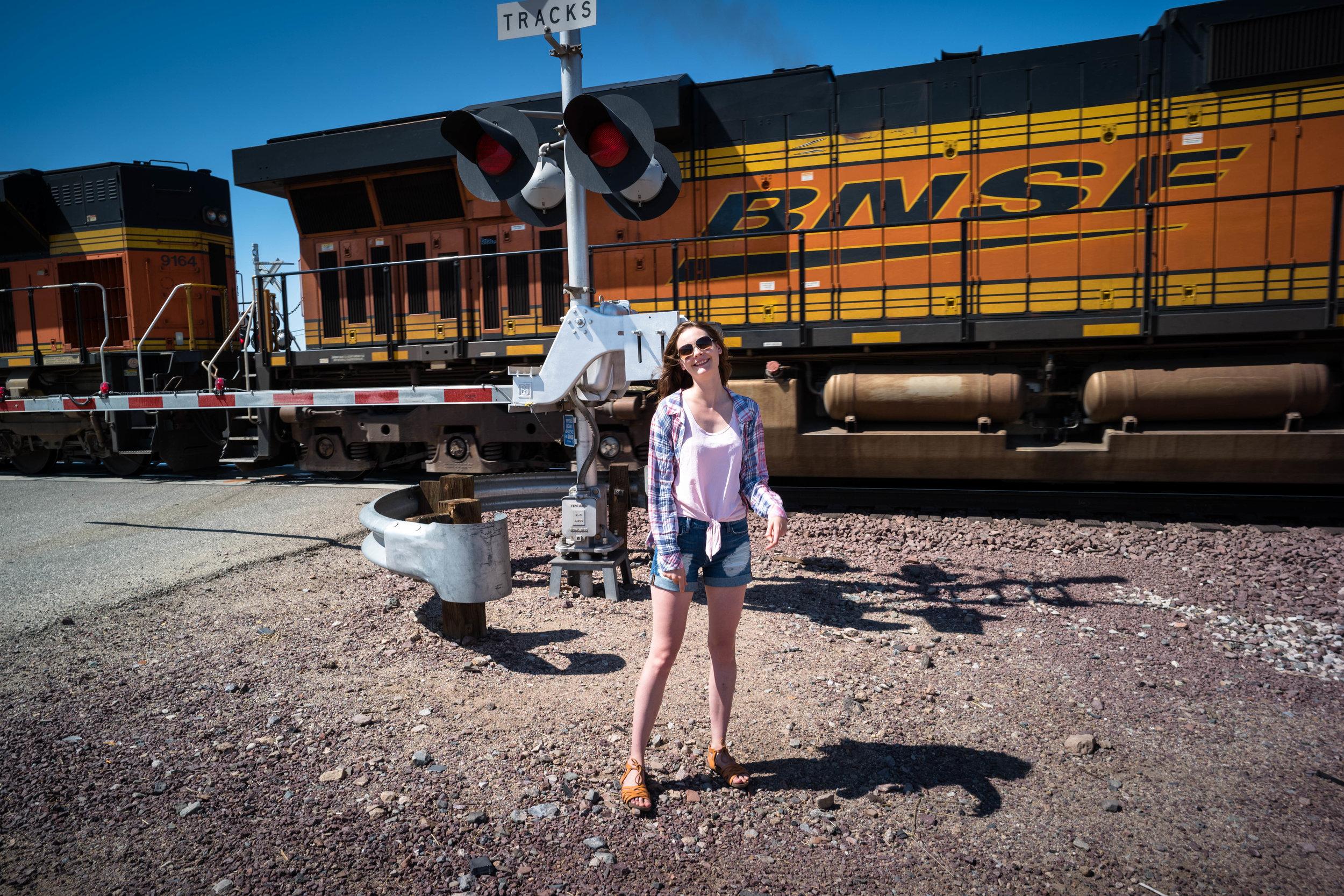 The Burlington North Santa Fe line. Leica 21mm f/3.4 Super Elmar ASPH