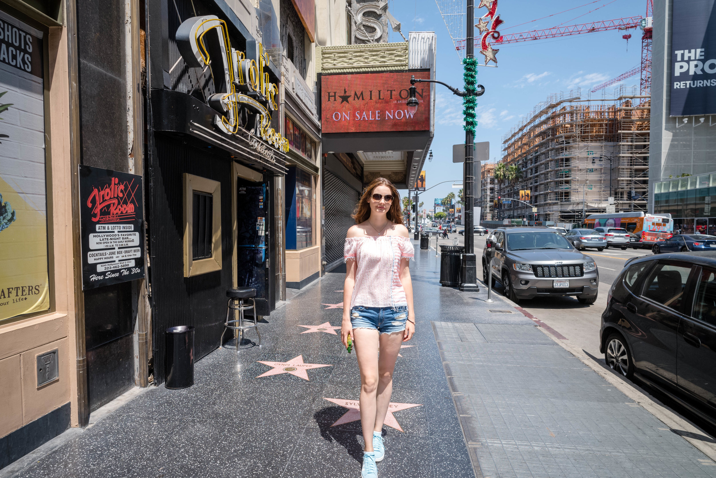 Hollywood Blvd, on the Walk of Fame - Shot at waist level - Leica 21mm f/3.4 Super Elmar ASPH