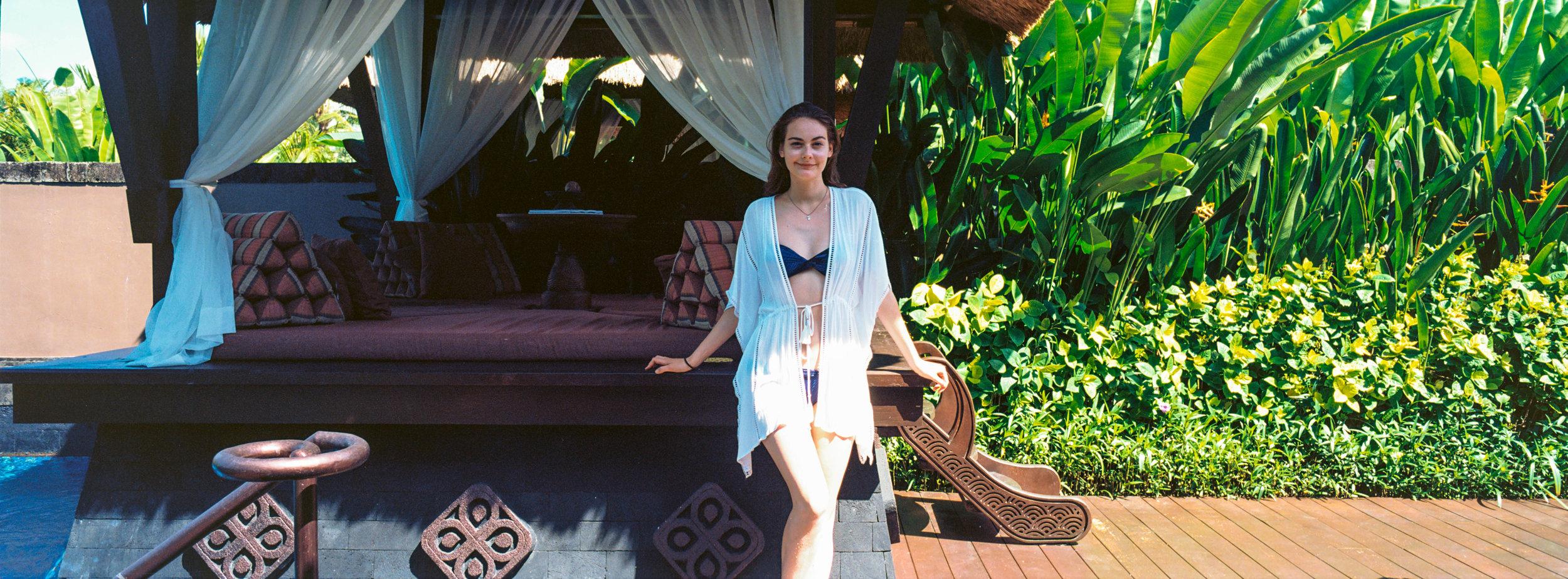 By the cabana, Bali - Kodak Ektar 100