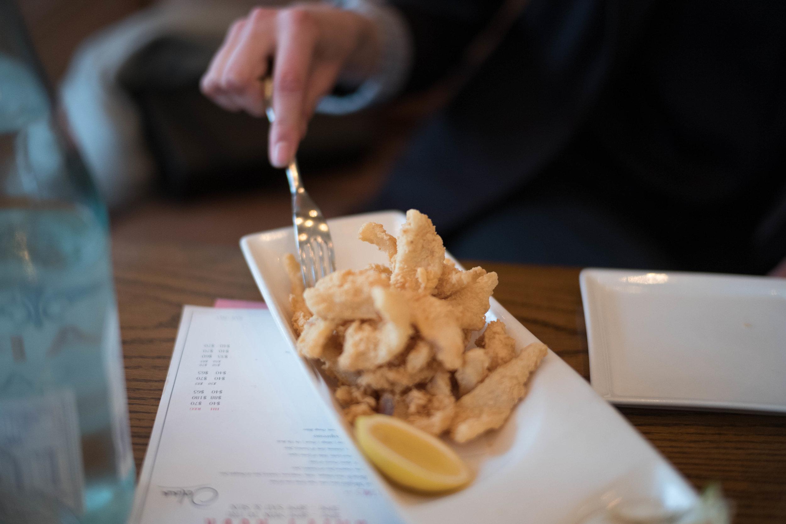My go-to calamari fritti.