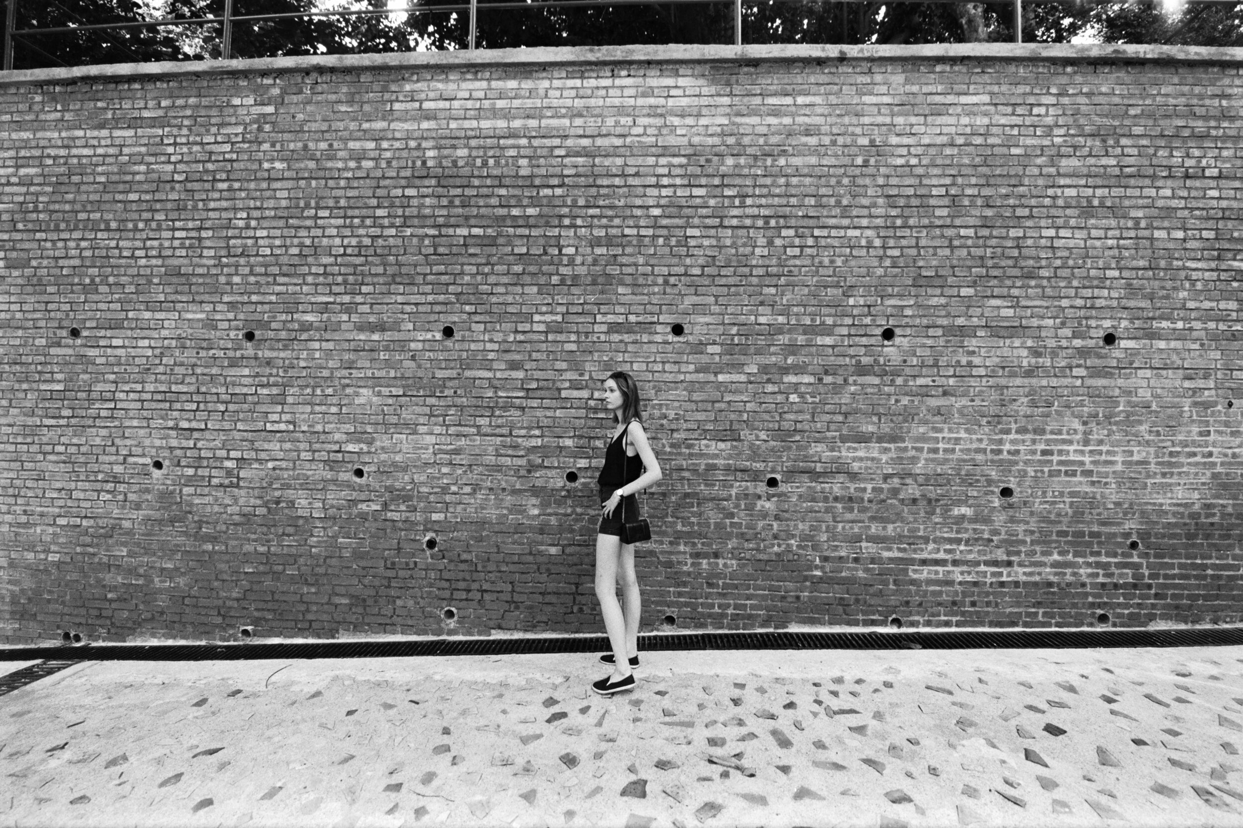 Ilford Delta 400 @ 14mm Focal Length